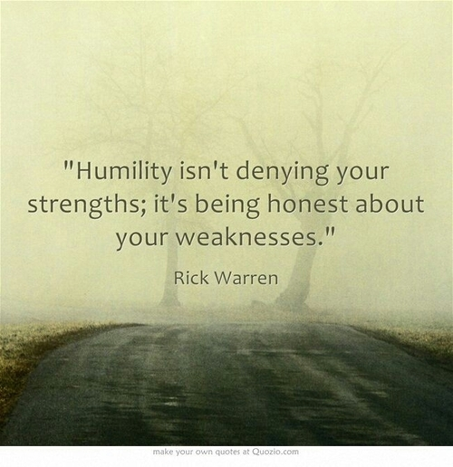 Humility And The Source Of Everything