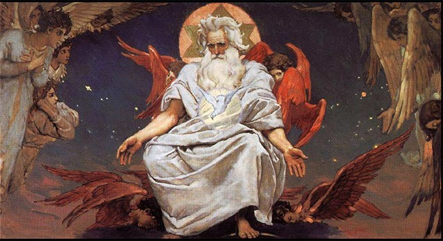 Viktor Vasnetsov God of hosts