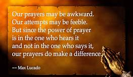 max lucado on prayer