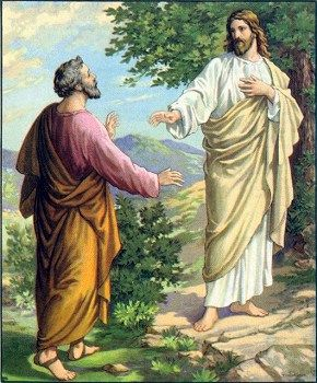 Jesus and Peter