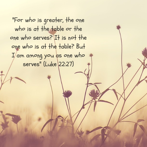 one who serves